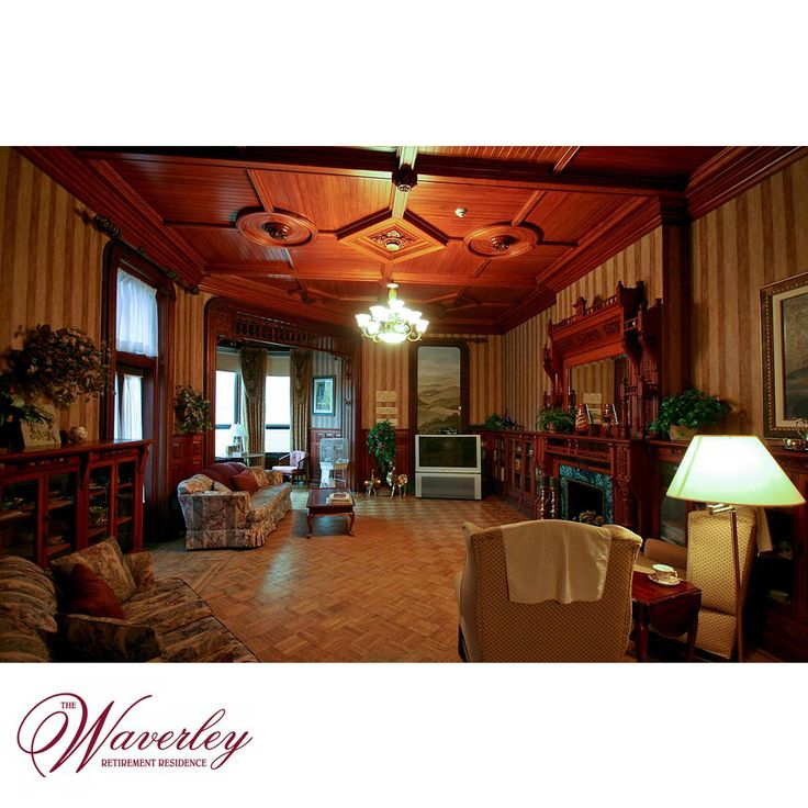 """As soon as you walk through the front door at The Waverley Retirement Residence, you'll know you have discovered a special place. The Waverley offers a warm and inviting residence that """"feels like home,"""" combining the grace and charm of an elegant Victorian mansion with all the modern care and services for inspired senior living."""
