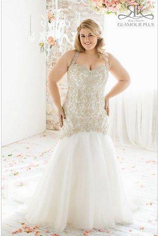 Cedar, Roz La Kelin Glamour Plus Collection   31 Jaw-Dropping Plus-Size Wedding Dresses