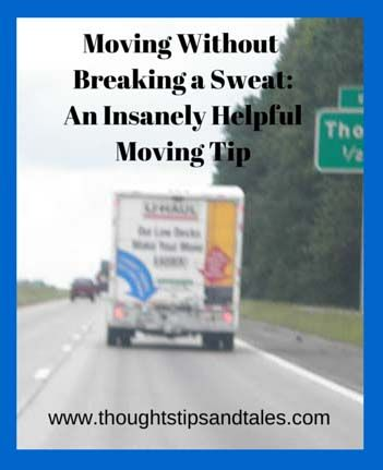Have a limited budget and dread the back-breaking work of carrying everything from your old place into your new home? Here's an insanely helpful moving tip.