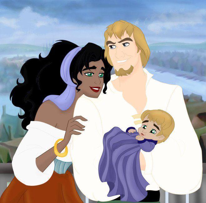 Voilà à quoi pourraient ressembler les enfants des princesses Disney !