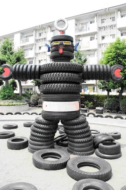 281 best images about tires on pinterest see more ideas for Snowmen made from tires