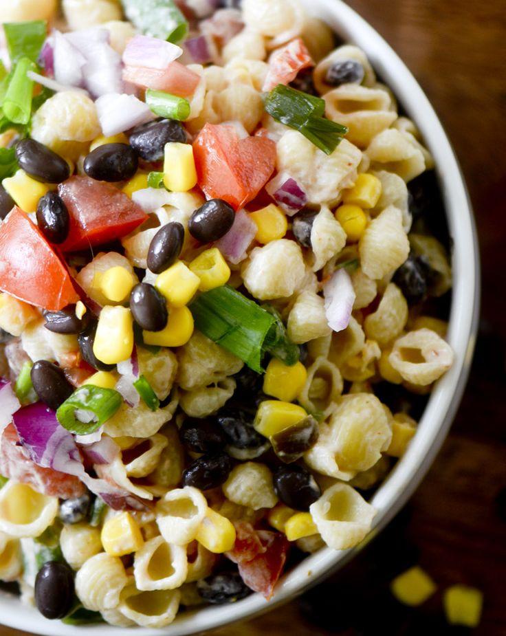 Mexican Macaroni Salad Recipe Pasta Salad Asian Ramen