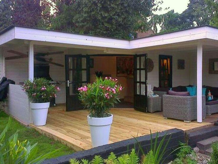 40 Best Tuinhuis Met Veranda Images On Pinterest