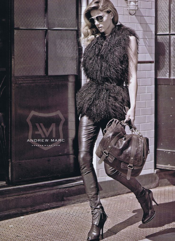 Andrew Marc Fall/Winter 2010 Ad