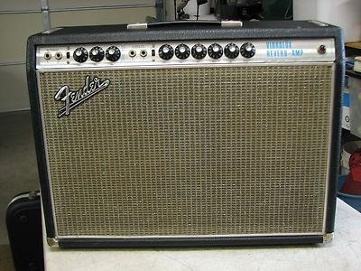 Vintage 1969 Fender Vibrolux Reverb-Amp Silverface Tube Guitar Amplifier LOOK!
