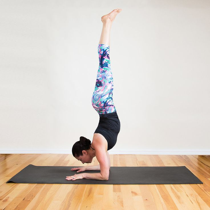 The Most Effective (and Most Fun!) Yoga Sequence For Chiseled Arms and Abs: Forearm Stand