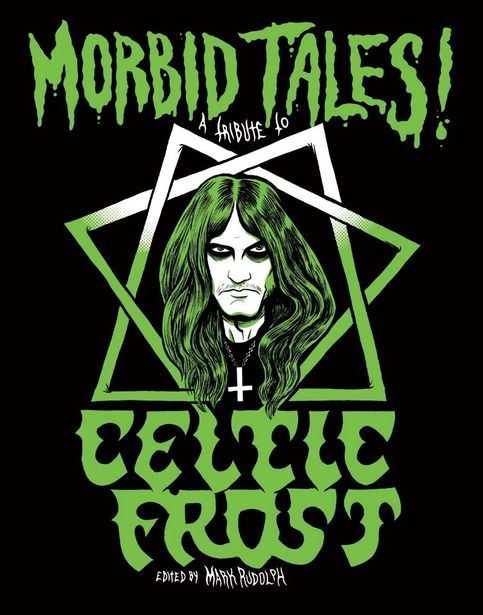152-page illustrated tribute to Celtic Frost, filled with illustrations, comics and humor by Justin Bartlett, Jason McGregor, Bruno Guerreiro, Lars Krantz, Chuck BB, Shawn Knight, J. Bennett, Eamon Espey, Ed Luce, Jeremy Baum, Johnny Ryan, Josh Bayer, Jacob Hamrick, J.T. Dockery, Kelly Larson, Kim Ho