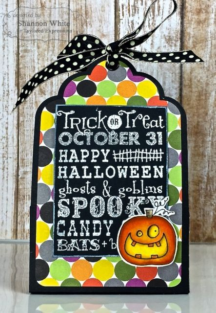 taylored expressions halloween treat holders individual by shannon white halloween - Halloween Treat Holders