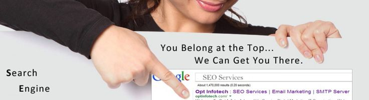 Seo Services : We offer best seo services,Smtp server, email martketing,PPC services. Click or Call at Toll Free - 1800-200-4221.   http://optinfotech.com/increase-page-traffic/#increase-page-traffic
