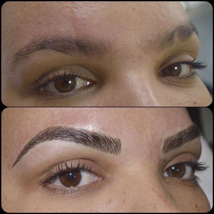 Micropigmentação fio a fio Micropigmentation Permanent makeup