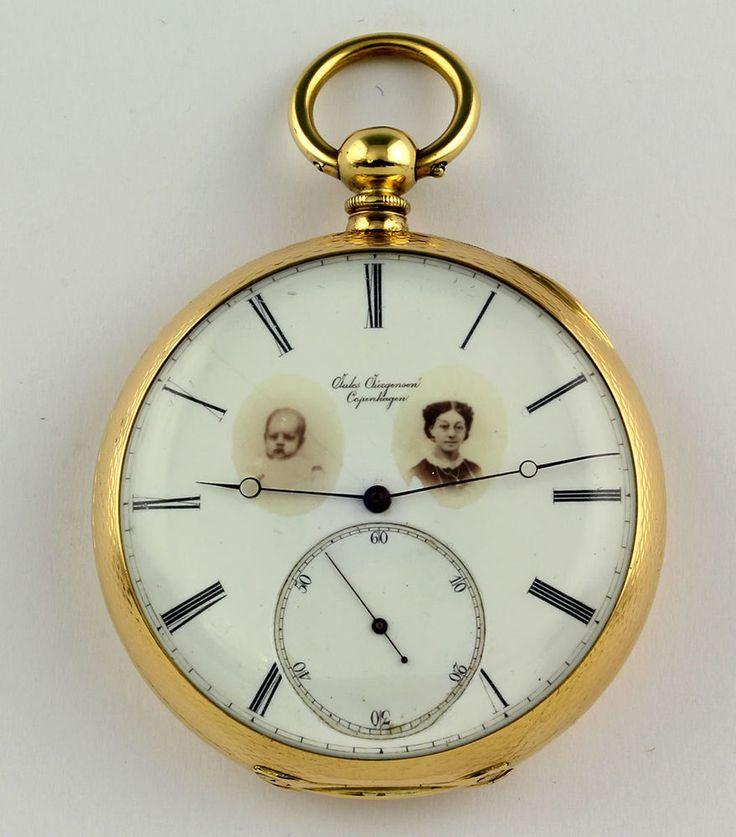 Jules Jürgensen 1855 Feder- Chronometer Hemmung Taschenuhr 18k Gold Jurgensen