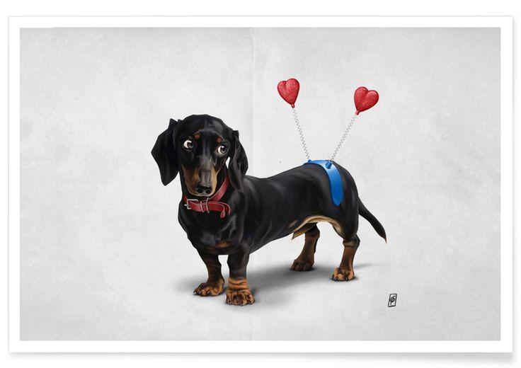 Butt (Wordless) as Premium Poster by Rob Snow | Creative | JUNIQE  art | decor | wall art | inspiration | animal | home decor | ideas | gift