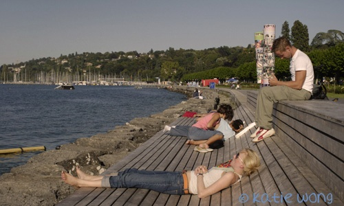 rest and relaxation : Geneva 2006