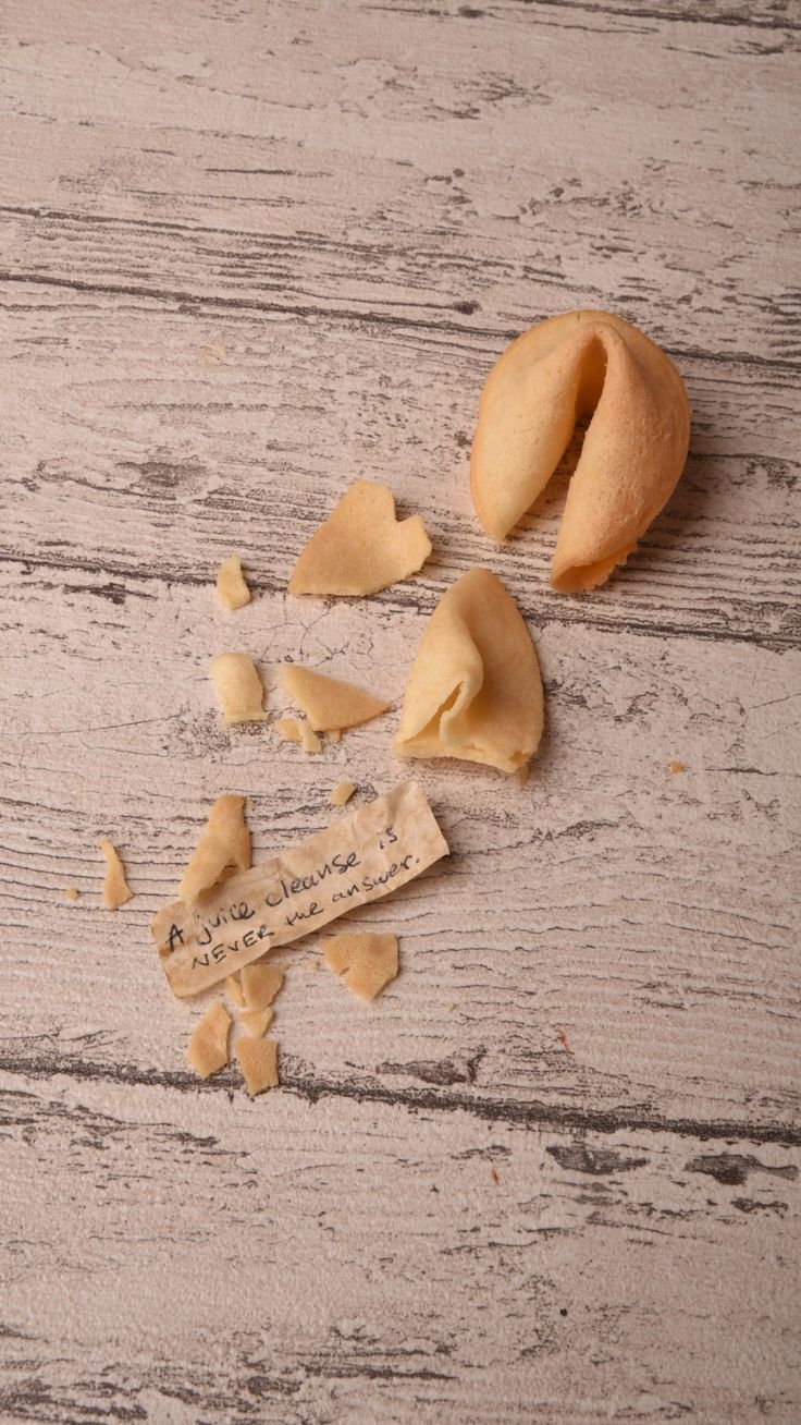 Write your own fortune with these homemade fortune cookies.