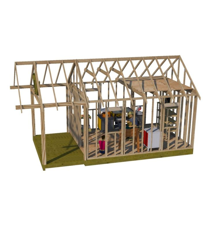 Build Your Dream Workshop Shed With Free Online Shed