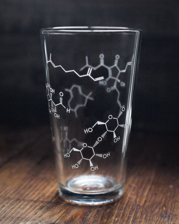 The chemistry of beer... on your glass!