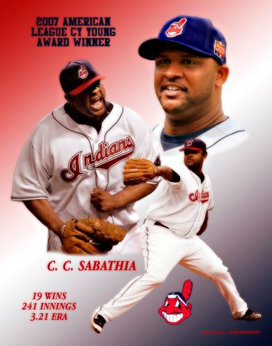 C.C. Sabathia 2007 American League Cy Young Award Winner
