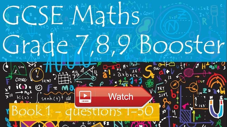 GCSE Maths Grade 7 Booster Revision Questions Playlist and Book  Getting a good grade in your GCSE maths exam is essential and the only way you can do that is by doing lots of prac
