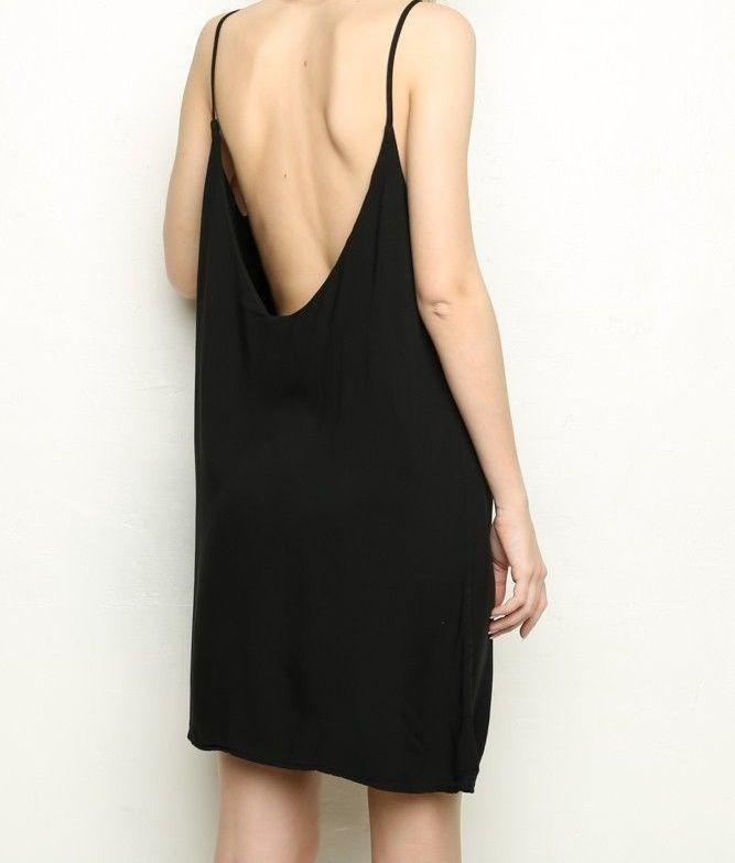 El little black dress más genial que vi en mucho tiempo