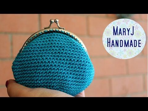 Tutorial Monedero Crochet o Ganchillo Cierre Metálico Coin Purse (english subtiltes) - YouTube