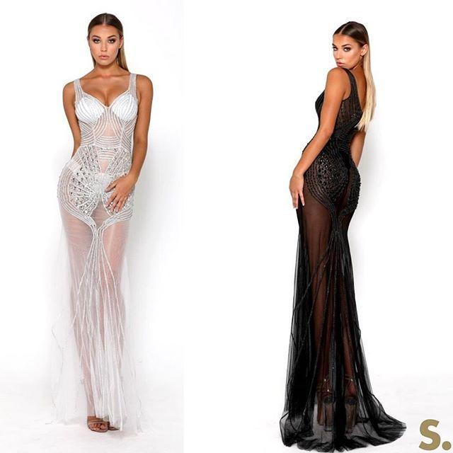 The SFB Matrix gowns by Portia & Scarlett at #SHAIDE  .  .  .  .  .  .  #mermaid #gowns #prom #formal #debs #debutanteball #eveningwear #formaldress #dressingup #girlsnightout #kylie #khloe #kardashian #sexydress #redcarpet #blacktie #ball #gala #showtime #Promdress #formalfever #ballgown #sequins #crystals #embellished