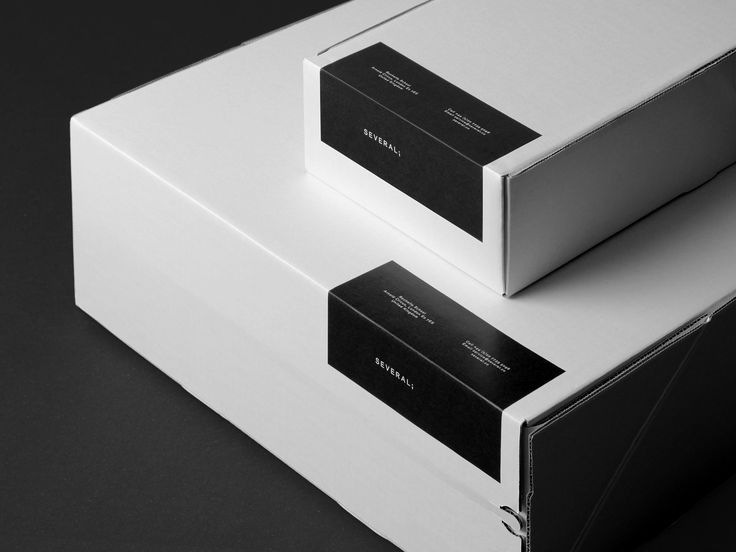Several; Ecommerce Packaging by Commission Studio