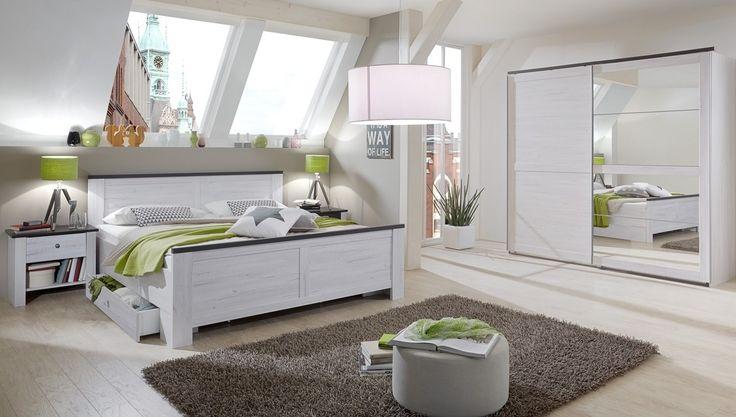 Komplette Schlafzimmer Modern. Schlafzimmer Schwarz Weiß