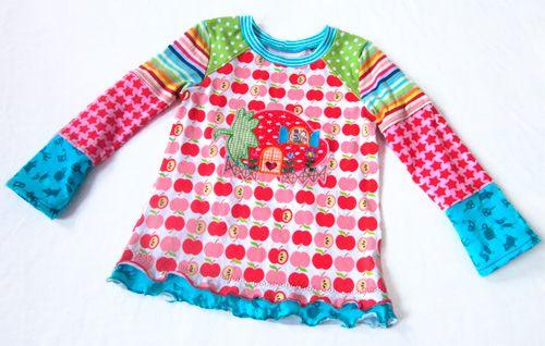 ANTONIA Shirt Oberteil Schnittmuster farbenmix