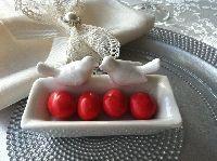 Çifte Kumrular Nikah Şekeri - Nişan Şekeri / hediye - sevgiliye hediye - kişiye özel hediye - bebek hediye - hediye sepeti