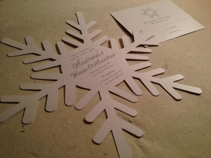 diy snowflake invitations koni polycode co