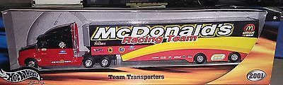 Hot Wheels Racing Andy Houston McDonald's Racing Team Transporters 2001 Toys & Hobbies:Diecast & Toy Vehicles:Cars: Racing, NASCAR:Other Diecast Racing Cars www.internetauctionservicesllc.com $14.99
