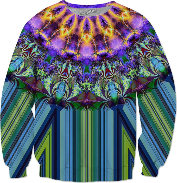 Inner Radiance Zoomed Sweatshirt by Terrella available at https://www.rageon.com/products/inner-radiance-zoomed-2?aff=BSDc on RageOn!