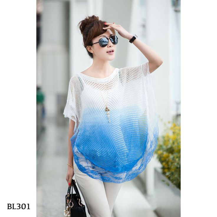BL301-Pink-Blue  - https://www.afwindo.com/shop/pusat-grosir-blouse-murah/bl301-pink-blue/