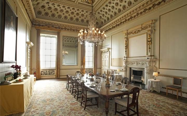 Good Wives And Daughters  Wentworth Woodhouse Dining Room | History On Screen    Regency Through Romantic Eras | Pinterest