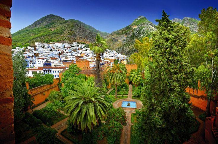 ville de Chefchaoune Maroc