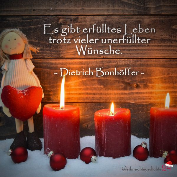 Weihnachtssprüche für Weihnachtswünsche
