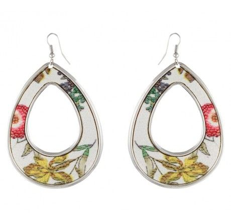 Multicolour Printed Earring for daily wear from MuHeNeRa