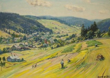 stanislav lolek landscape painting
