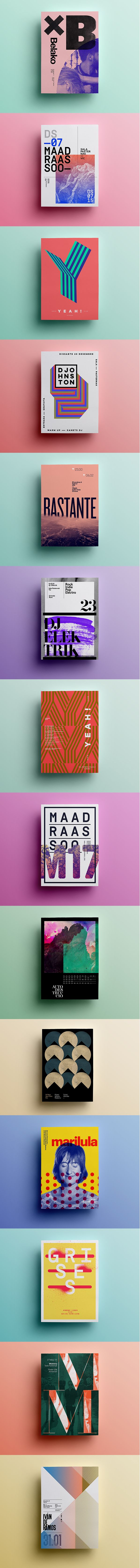 Posters 2015 on Behance
