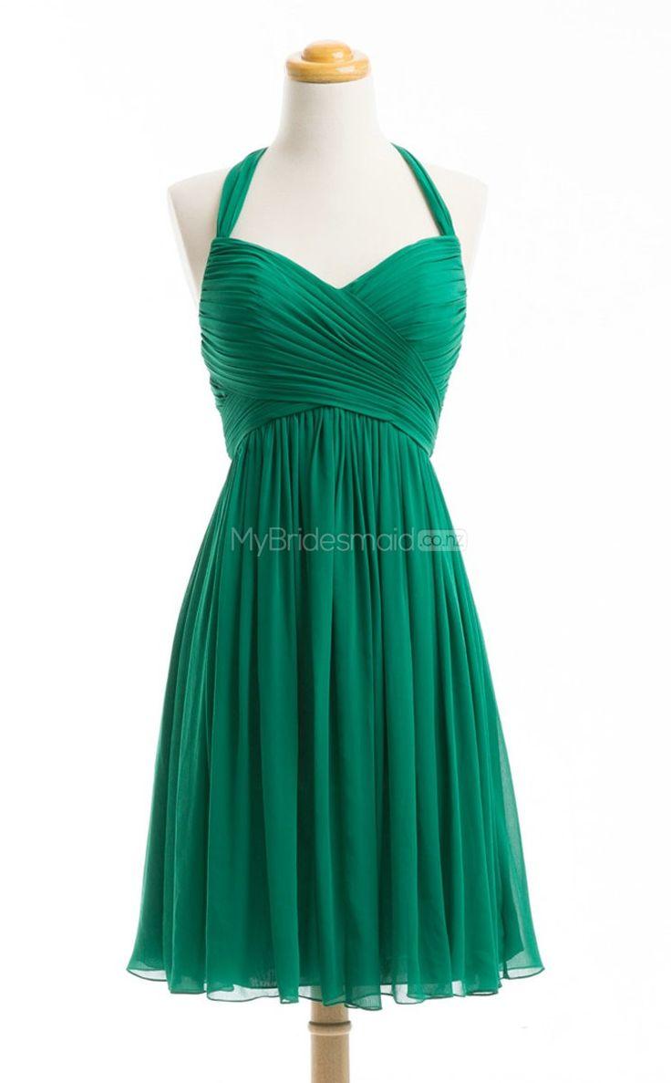 Glamorous Green Short Bridesmaid Dress,Short Bridesmaid Dresses