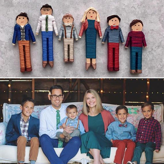 Custom Family Christmas Ornaments Personalized Family Gift
