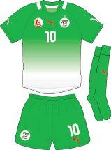 Algeria | away jersey | 2012-2013