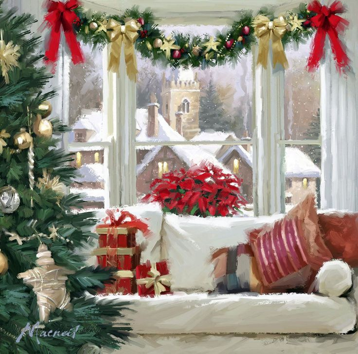 48 Best Christmas Art Richard Macneil Images On Pinterest