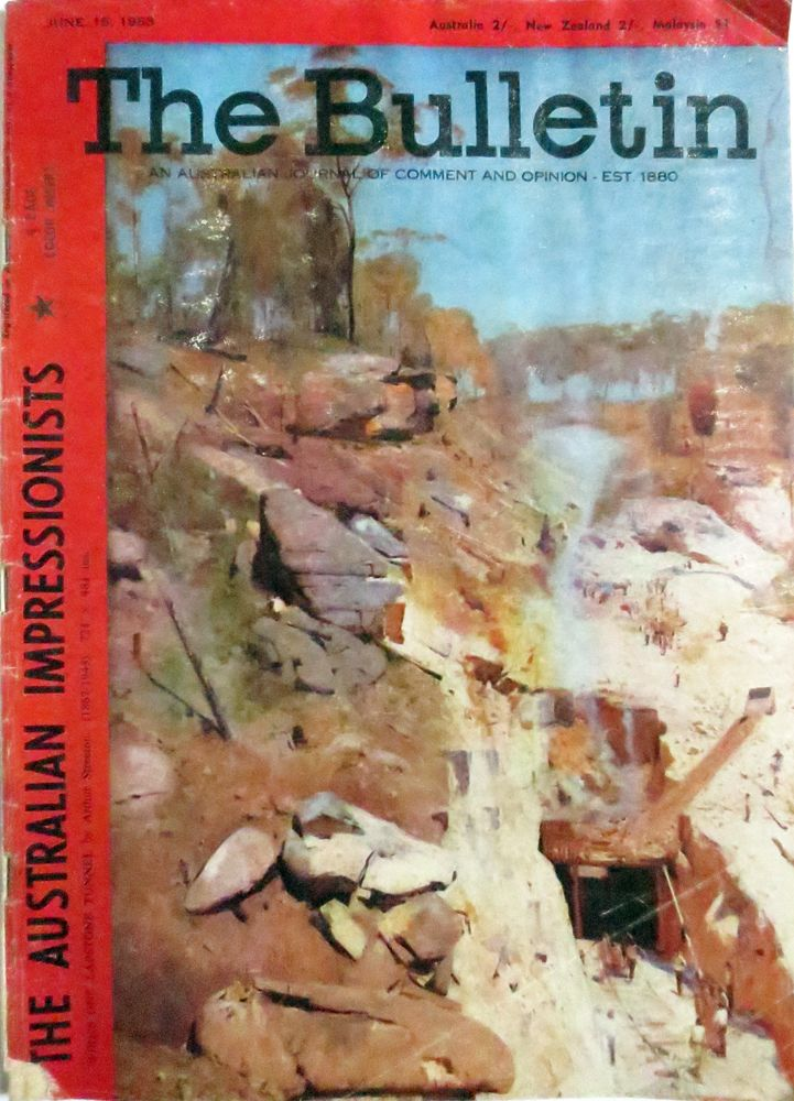 The Bulletin, The Australian Impressionists issue.