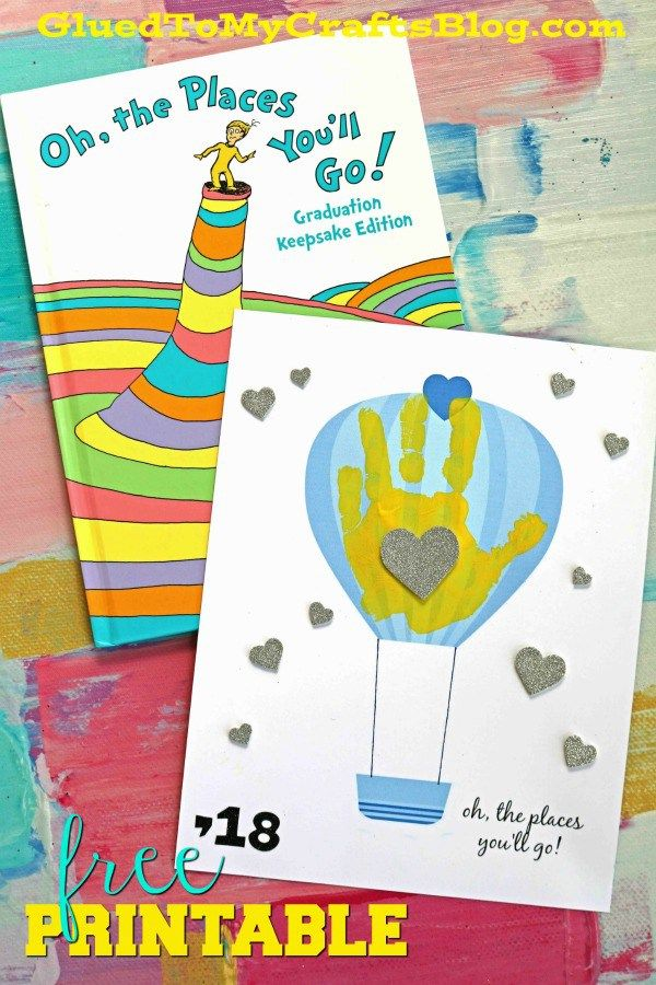 photo regarding Oh the Places You'll Go Balloon Printable Template referred to as Oh, The Sites Youll Move - Handprint Keepsake Printable