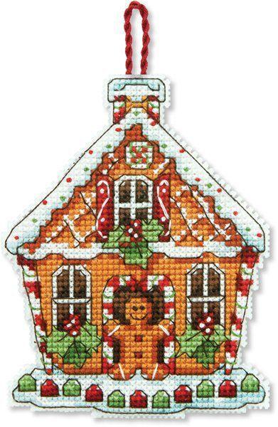 Christmas Ornaments - Cross Stitch Patterns & Kits on plastic canvas