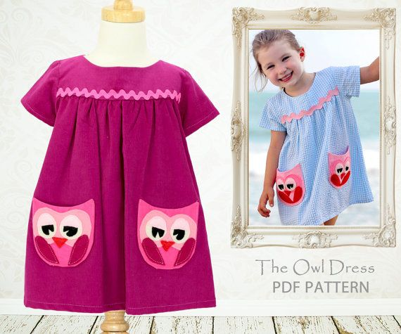 Instant Download Childrens sewing pattern di MyChildhoodTreasures