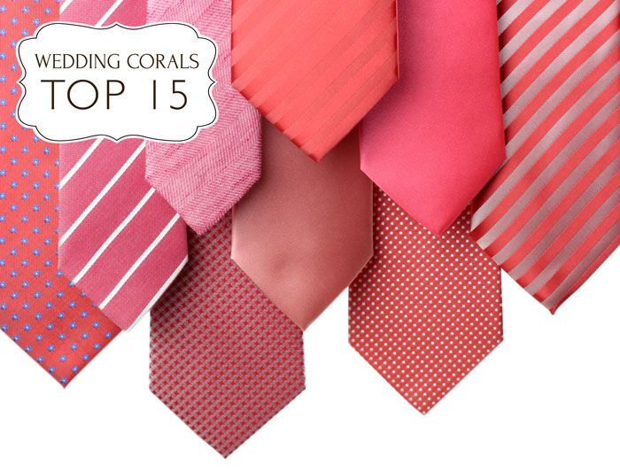 The 25 best Coral tie ideas on Pinterest Coral groomsmen Coral
