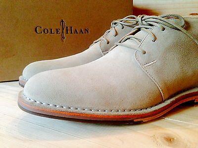 Cole-Haan-MILKSHAKE-SUEDE-Glenn-CHUKKA-Boots-Sz-