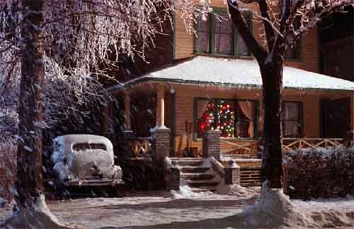 """1983 movie; """"A Christmas Story"""" Ralphie, growing up in the '40's, dreams of owning a Red Rider BB gun, and sets out to convince the world this is the perfect gift."""